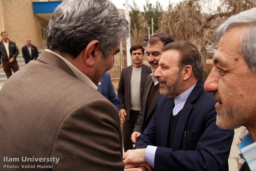 افتتاح مرکز تخصصي آپا در دانشگاه ايلام با حضور وزير ارتباطات