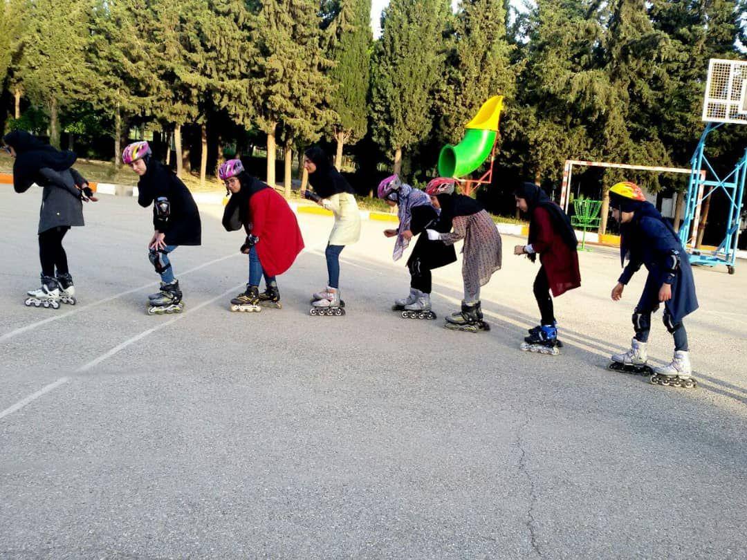 امکان ورزش اسکیت برای دانشجویان دانشگاه فراهم گردید