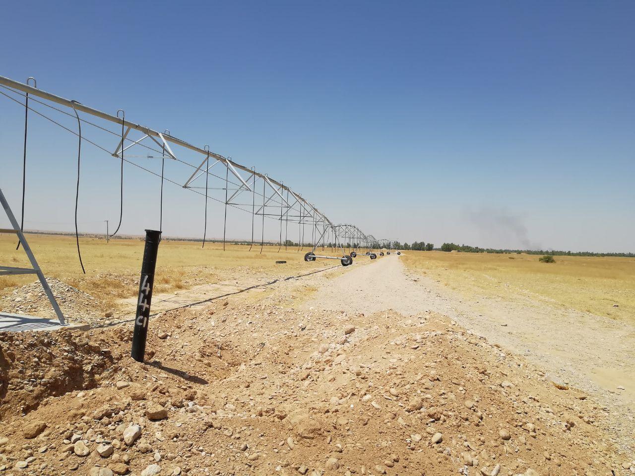 دومین سیستم سنتر پیوست در مزرعه آموزشی و پژوهشی مهران نصب گردید